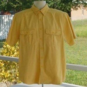 Faded Glory Short Sleeve Button Down Shirt